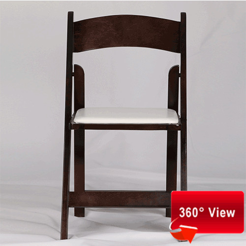 ZS-8805 WOODEN BROWN FOLDING CHAIR