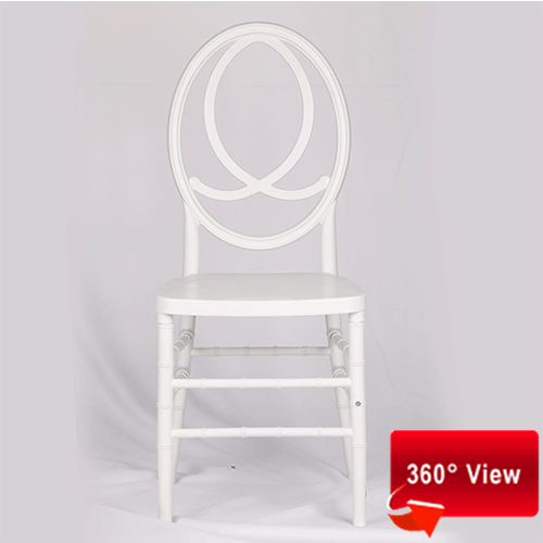 ZS-8046PR RESIN PP WHITE PHOENIX CHAIR