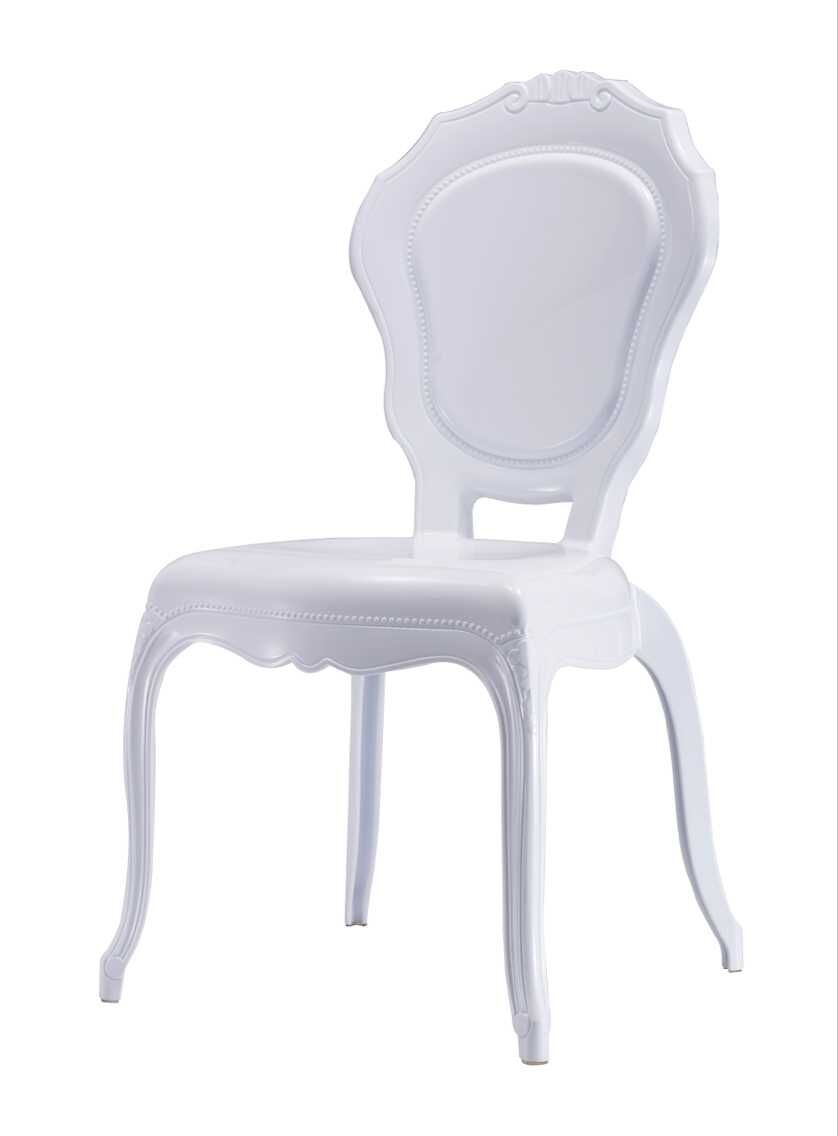 Etonnant ZS 9007B PLASTIC BELLA CHAIR WHITE